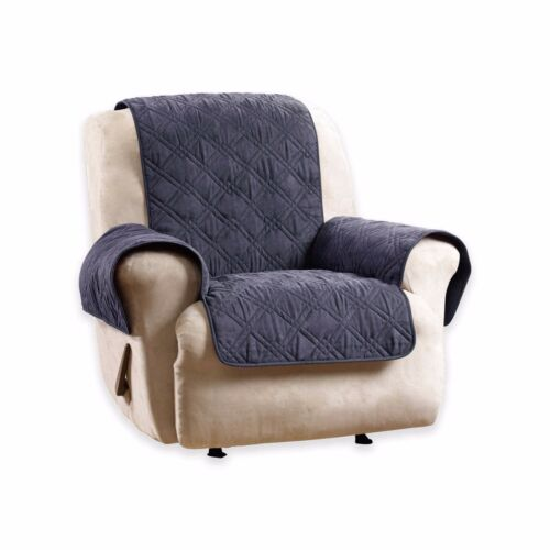 Sure Fit® Deluxe Non-Skid Waterproof Recliner Cover in Blue FREE SHIPPING