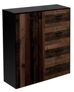 Highboard Kommode Sideboard Anrichte Esszimmer Wohnzimmer Texas Oak