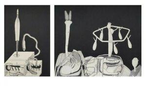 Pollak-DUO-LANDSCHAFT-moderne-kunst-collage-Stillleben-original-unikat