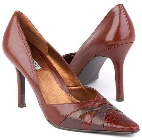 New ALFANI damen Leather Classic Croc High Heel Pumps Pointy Toe schuhe