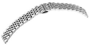 Edelstahl-Gliederband-Uhrenband-Silber-20-mm-Gebuerstet-Ersatzband-X8100139200