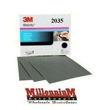 9 x 11 inch 2035-50 sheets P800 Grit 3M 02035 Wetordry Sheet