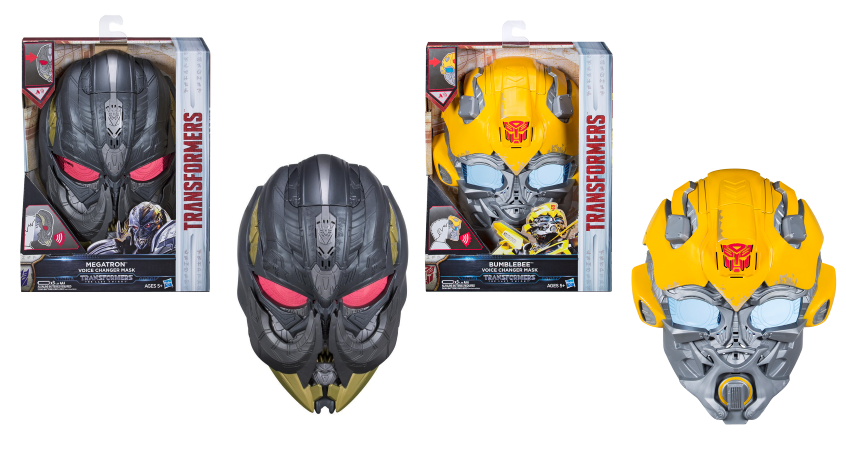 Transformers Voice Changer Mask- The Last Knight - Megatron Bumblebee -Brand New