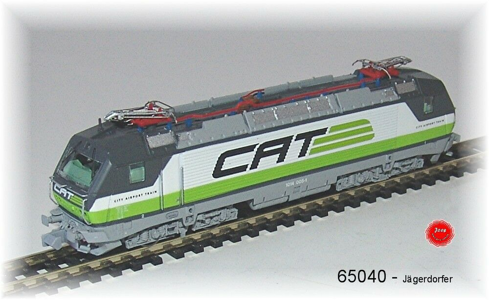JÄGERNDORFER 65040-e-Lok 1014.005  serie 1014  CITY AIRPORT TRAIN  CAT
