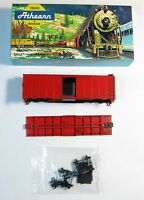 Athearn 1200 Ho Scale Box Car 40' Undecorated Mkt Red (1200r)