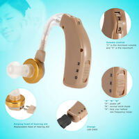 Axon Volume Adjustable Rechargeable Bte Hearing Aid Sound Amplifier From Usa