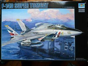 Maquette Avion 1/32 Trumpeter F-14d Super Tomcat Ref 03203