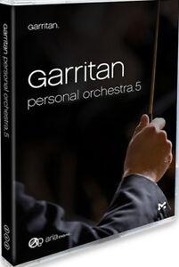 CoopéRative Nouveau Garritan Personal Orchestra 5 Orchestral Sample Library Instrument-afficher Le Titre D'origine