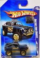 HOT WHEELS 2009 REBEL RIDES CUSTOM FORD BRONCO #05/10 BLUE FACTORY SEALED