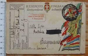 cartolina Franchigia zona di guerra - 2782