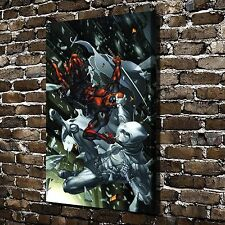 Deadpool VS Moon knight Paintings HD Print on Canvas Home Decor Wall Art Picture