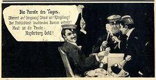 Die Parole des Tages (Kupferberg Studentica-Werbung) c.1904