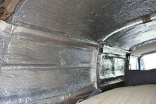 Aislamiento térmico para Vans, doble papel de aluminio. 10m Rollo