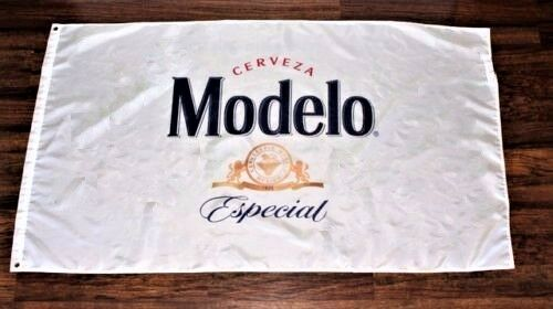 Modelo Especial Cerveza Beer Flag Banner Mexico Mexican Restaurant 3/' x 5/' New