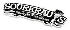 SOURKRAUTS ® KRAUTS SW Sticker made for petrolheads Aufkleber Tuning DUB