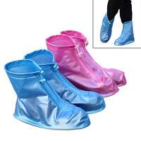 Reusable Rain Shoe Covers Waterproof Shoes Overshoes Boot Gear Anti-slip Cnr