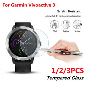 9H-Tempered-Glass-Screen-Protector-Film-2-5D-For-Garmin-Vivoactive-3-Watch-hi
