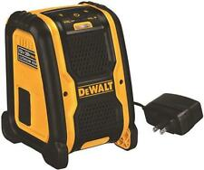 NEW DEWALT DCR006 PORTABLE FOR USE WITH 12 TO 20 VOLT BATTERY BLUETOOTH SPEAKER
