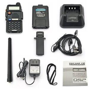 BaoFeng UV-5R 136-174/400-520 MHz Dual-Band DCS DTMF CTCSS FM Two Way Radio CY