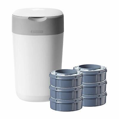 Ausdauernd Tommee Tippee Twist And Click Advanced Nappy Disposal Sangenic Starter Pack HöChste Bequemlichkeit
