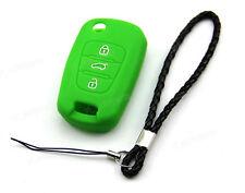 Green Silicone Case Cover For Kia Flip Key K2 K5 Soul Sportage Sorento Pro ceed