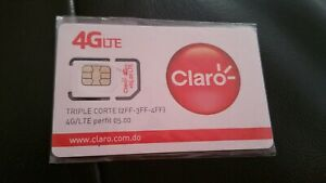 Details about CLARO 4G LTE DOMINICAN REPUBLIC SIM CARD Travel, free shipping