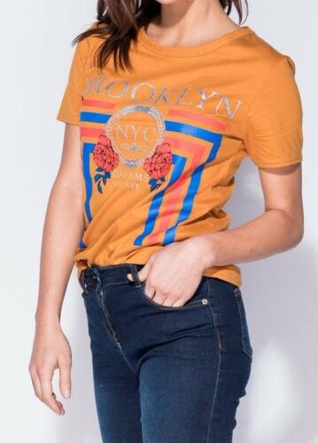 Brooklyn Reduced!! placement  print T-shirt