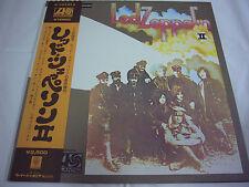 LED ZEPPELIN-2 Ⅱ JAPAN Press w/OBI Deep Purple AC/DC Kiss Rush Black Sabbath