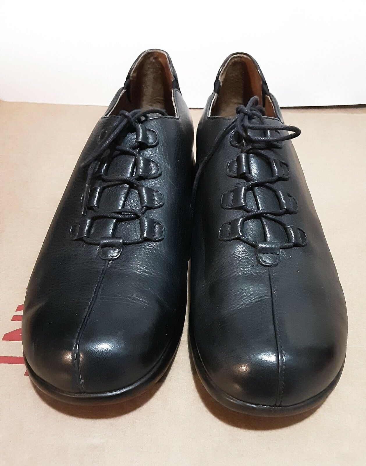 Ariat Miler Black Leather Shoes Style #20201
