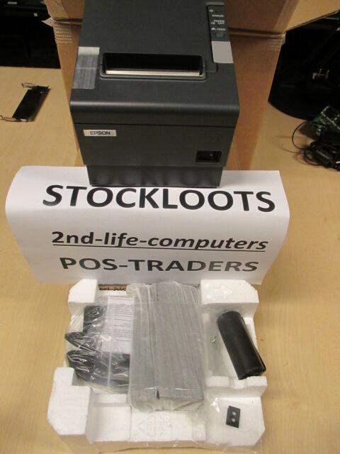 Epson TM-T88IV 321 Thermal Ticket Receipt Kitchen POS Printer Serial RS232 NEW