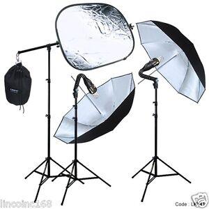 how to use umbrella lighting kit