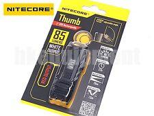 NiteCore THUMB  Rechargeable USB Pocket Clip Keychain+RED LED Flashlight