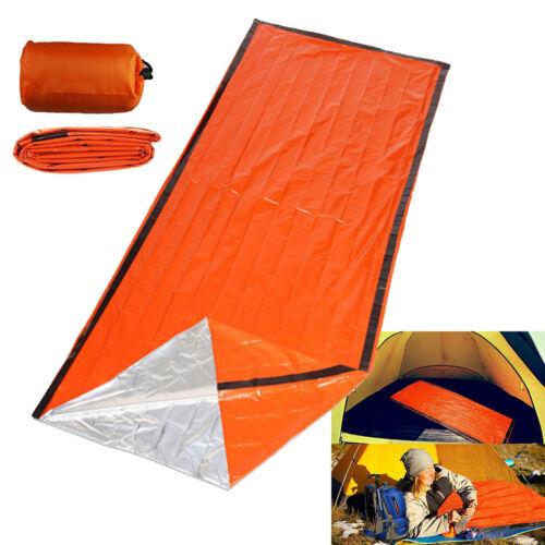 Outdoor Emergency Thermal Waterproof Sleeping Bag Camping Survival Bivvy Sack