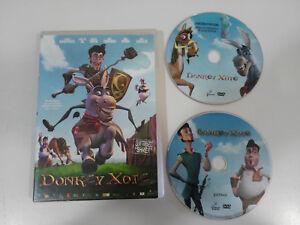 DONKEY-XOTE-2-X-DVD-EDICION-ESPECIAL-BUENAFUENTE-SANCHO-GRACIA-ESPANOL-ENGLISH