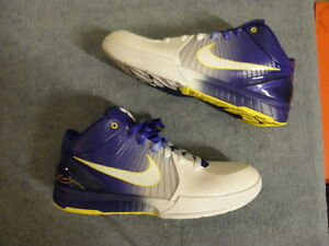 Nike Air zoom Kobe IV 4 Home Gradient Lakers size 11 DS NEW NIB OG Original Rare