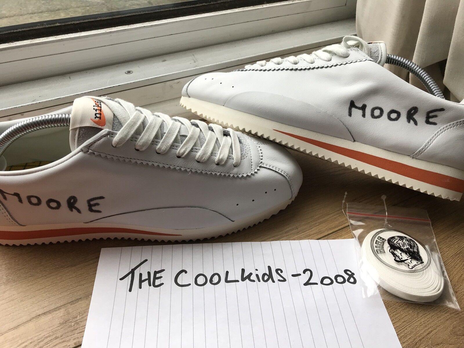 Nike X Kenny Moore Classic Cortez Tag Nuovo di di di zecca con RARA  Sunil 2  HO | Altamente elogiato e apprezzato dal pubblico dei consumatori  5578ba