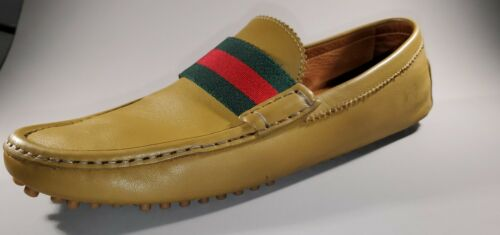 Gucci Loafers AUGER 304763 Drivers Men 8