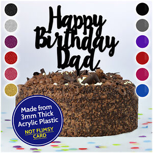Happy-Birthday-Dad-Daddy-Grandad-Personalised-CAKE-TOPPER-Custom-Cake-Decoration