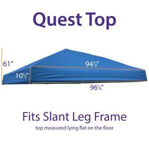 Outdoor Ez Pop Up 10x10 Canopy Replacement Top Quest