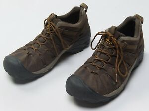 Men-039-s-KEEN-Voyageur-Leather-Low-Camping-Trail-Hiking-Shoes-Size-Sz-US-12-US12