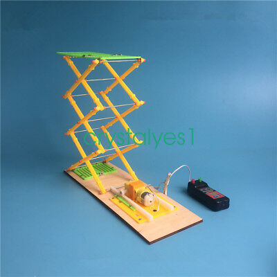 DIY Electric Lift Model Kit Physical Science Experiment Education Toy YQ02 C