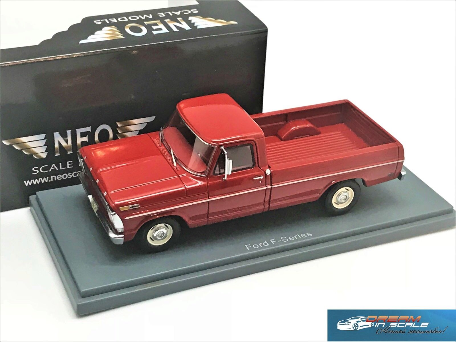 Ford F100 Pick-up rosso 1968 Neo 44845 1 43