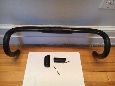 TOSEEK Carbon Fiber Integrated Road Handlebar Racing Drop Bike Bar Black/&Yellow