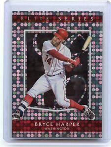 2016 Panini Donruss Elite Series #ES22 Bryce Harper Washington Nationals Card Verzamelingen