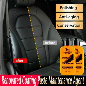 Agente-de-mantenimiento-de-cuero-120ml-Auto-amp-reformado-renovado-herramienta-de-Pasta-de