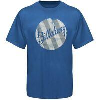Billabong Planetary Wave Tee Mens Blue Cotton Blend T-shirt