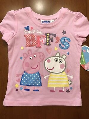 Peppa Pig and Suzy BFF/'s short sleeve shirt