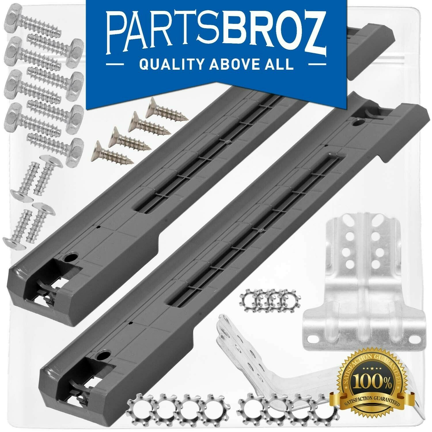SKK-7A Stacking Kit for 27-Inch Samsung Front-Load Washers & Dryers by PartsBroz