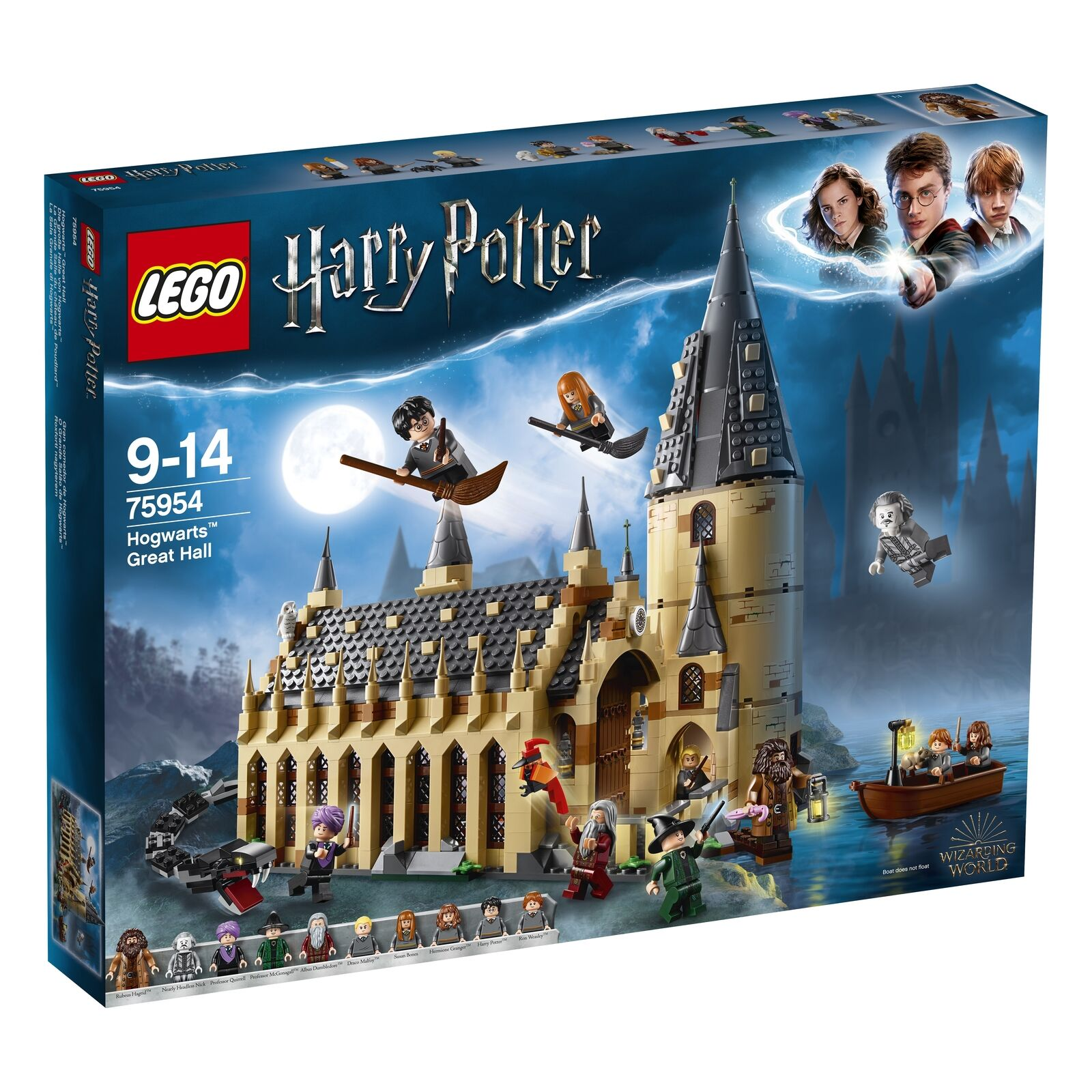 Lego Harry Potter Hogwarts Great Hall (75954) Brand New Unopened