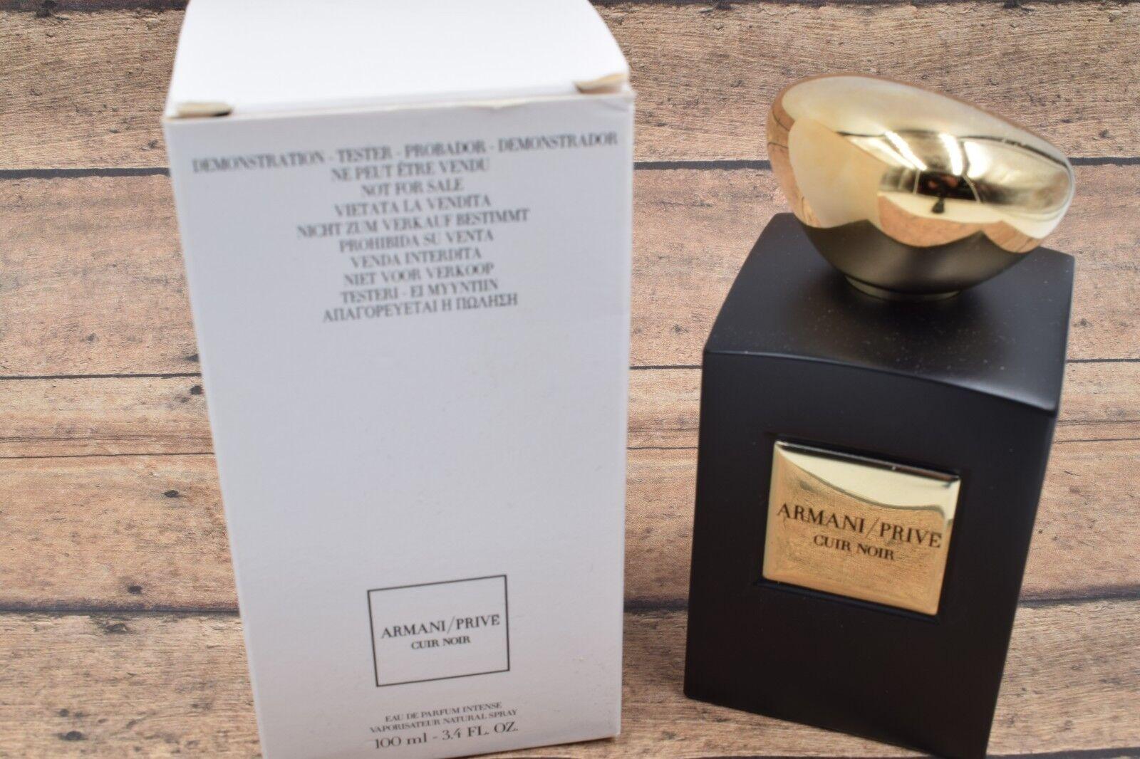 Cuir 3 4 De Armani Prive Noir Parfum 100ml Oz Eau Giorgio jqSVLpUGMz